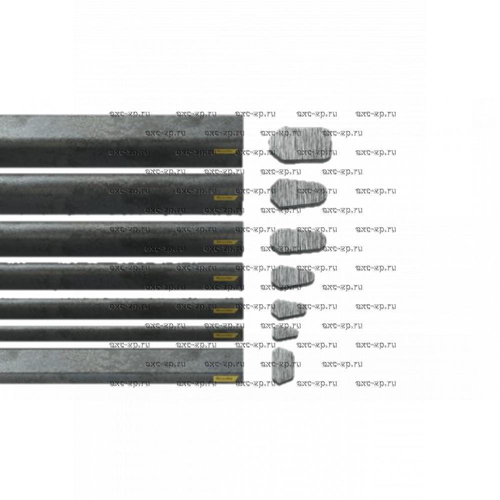 Планка грунтозацепа Bruxite 46 3000x30x16