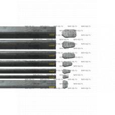 Планка грунтозацепа Bruxite 98 3050x68x37