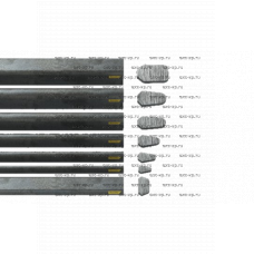 Планка грунтозацепа Bruxite 100 3050x75x45