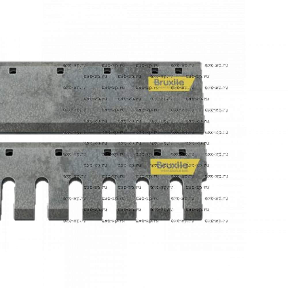 "Зубчатый нож Bruxite M20 5x8""x1"""